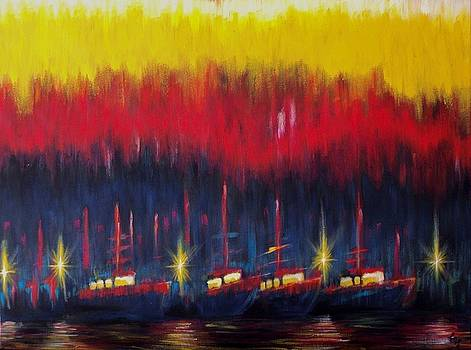 Bold Boats by Timothy Michaels Flores