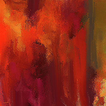 Bold Colors Abstract Art by Lourry Legarde