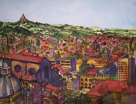 Bologna- a Monk's Journey by Terri Thames-Johnson