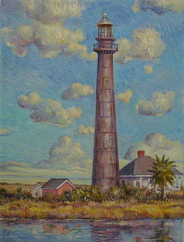 Bolivar Lighthouse by Henry David Potwin