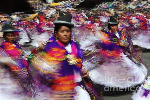 James Brunker - Bolivian Festival Action