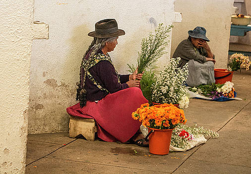 Venetia Featherstone-Witty - Bolivian Flower Sellers