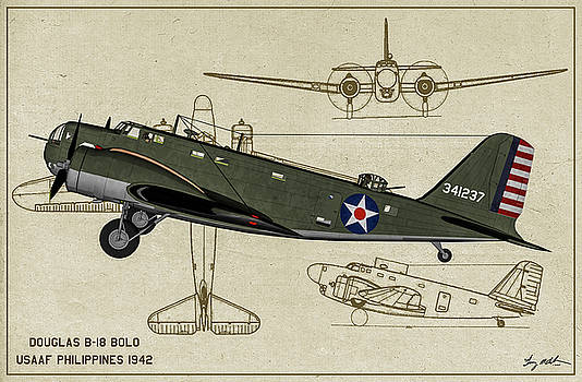 Bolo B-18 Bomber - Profile by Tommy Anderson