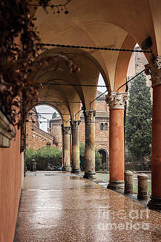 Sophie McAulay - Bologna covered walkway portico