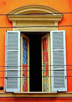 Bologna Window by Natalia Radziejewska