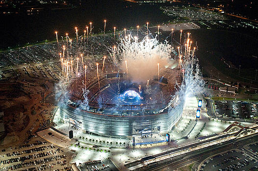 Bon Jovi ROCKS the new Meadowlands Stadium by John Majoris
