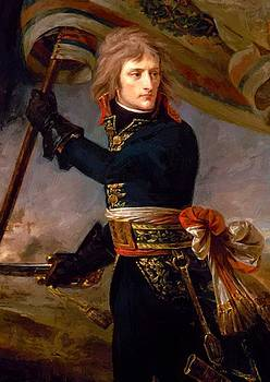 Bonaparte At The Pont D Arcole 1796 by Gros AntoineJean