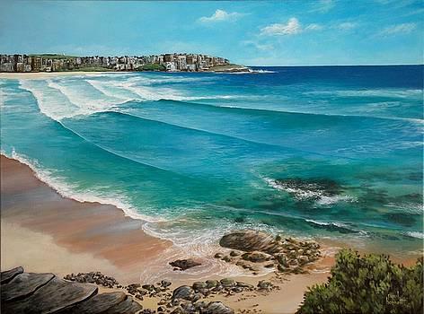 Bondi Beach by Paul Bennett