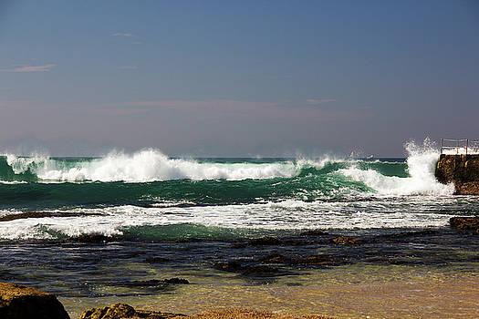 Bondi Beach Waves by Cassandra NightThunder