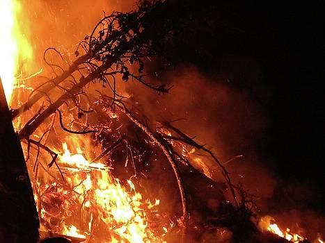 Bonfire by Azthet Photography