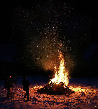 Bonfire by John Meader