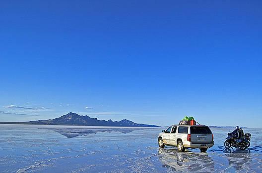 Bonneville Salt Flats by Kristen Vota