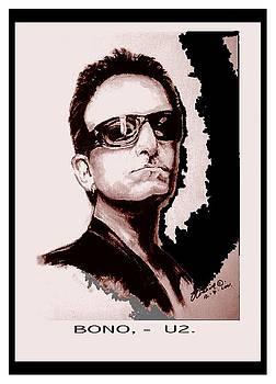 Bono U2 by Liam O Conaire