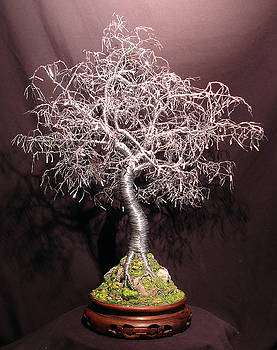 Bonsai with Hammered Leaves by Sal Villano