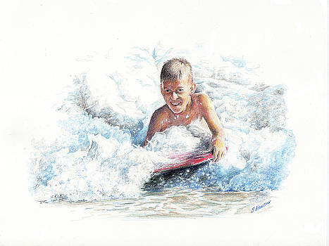 Boogie Boarding by Sue Henson