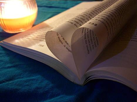 Book and candle by Cynthia Lempitsky