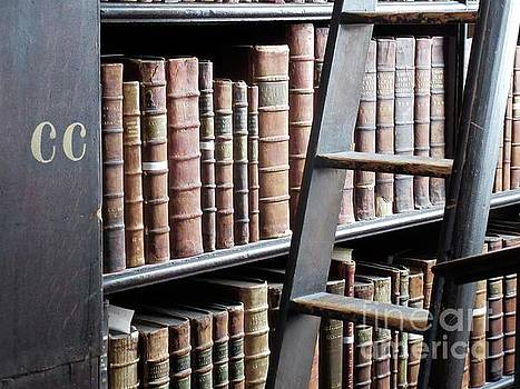 Books at Trinity College by Crystal Rosene