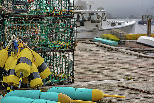 Boothbay Buoys by Jesse MacDonald