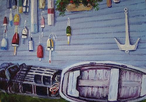Boothbay Markers by Bonita Waitl