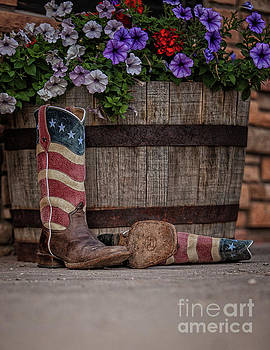 Boots and Blooms by Erin Schwartzkopf