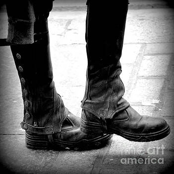 Boots are made for walking by Jeanette Brown