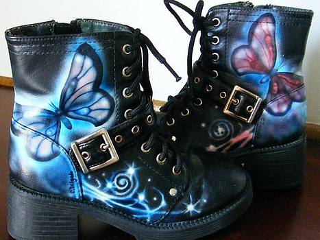 Boots by Crispin  Delgado