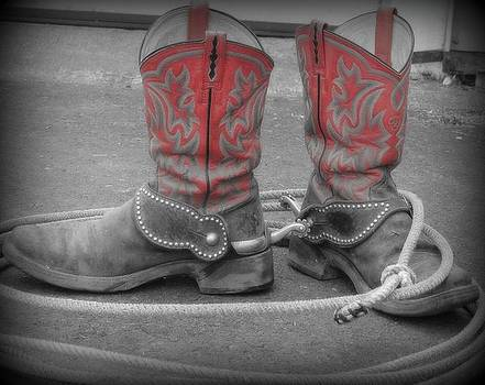 Boots N' Spurs by Ashley Scheer