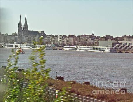 Bordeaux Riverview by Barbara Plattenburg