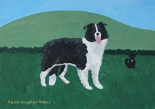 Border Collie by Susan Houghton Debus