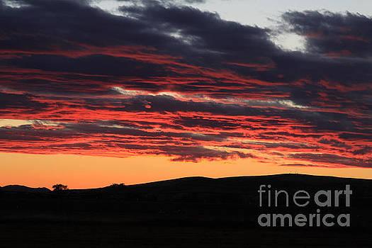 Border Sunset by Dawn Kori Snyder