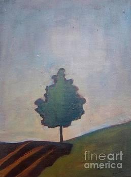 Bordering Tree by Vesna Antic