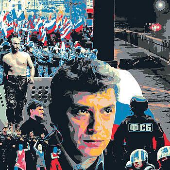 Boris Nemtsov by Shay Culligan