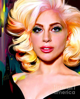 Born This Way, Lady Gaga by Jaimy Mokos