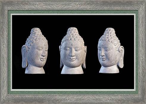 Borobudur Greeting Card 1 by Terrell Kaucher