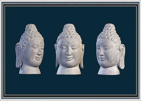 Borobudur  Greeting Card 2  by Terrell Kaucher