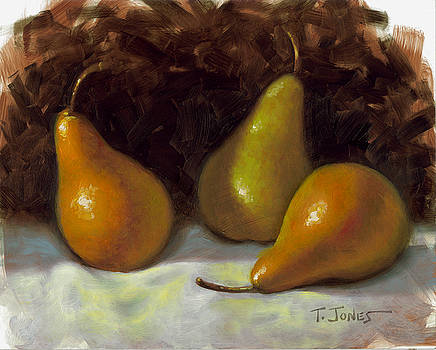 Bosc Pears by Timothy Jones