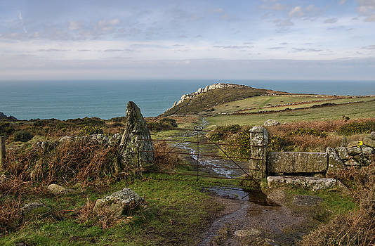 Bosigran in North Cornwall by Pete Hemington