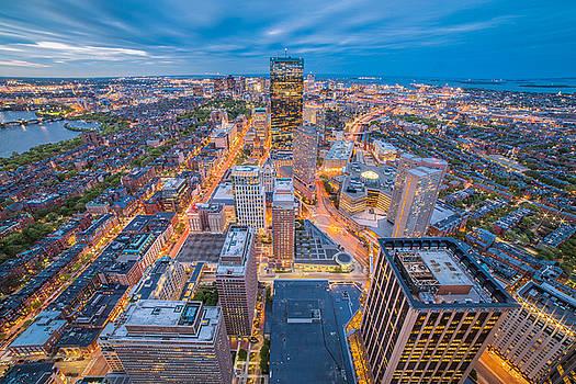 Boston at Dusk by Ryan McKee