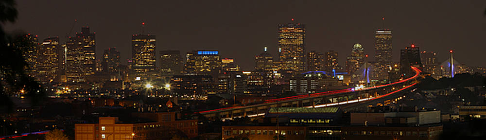 Boston City Panoramic by Juergen Roth