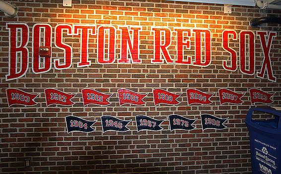 Juergen Roth - Boston Fenway Park Championship Mural