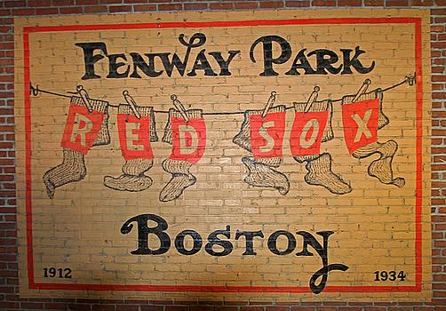 Juergen Roth - Boston Fenway Park Vintage Sign
