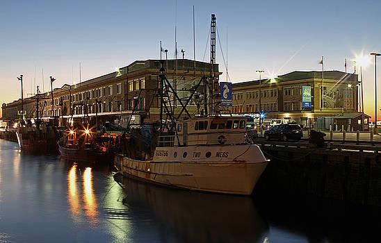 Boston Fish Pier by Juergen Roth