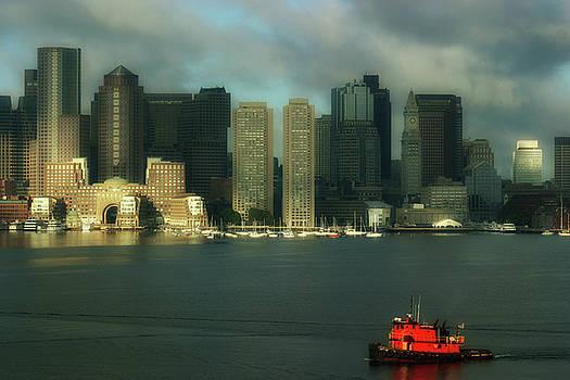 Boston Harbor by Carol Kinkead