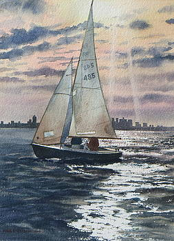 Boston Harbor by Karol Wyckoff