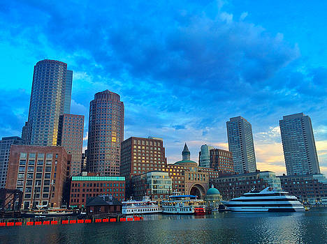 Boston Harbor  by Rick Macomber