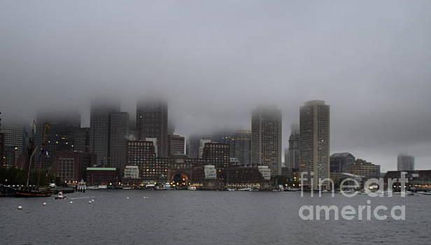 Boston in the Fog by Lennie Malvone