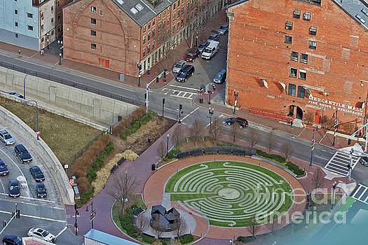 Boston Labyrinth by Ruth H Curtis