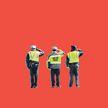 Boston Marathon bombing by Shay Culligan