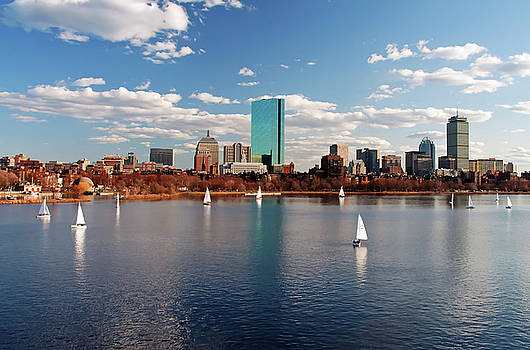 Wayne Marshall Chase - Boston on the Charles