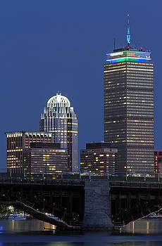 Boston Prudential Center Celebrating 100th Anniversary of Shaw Market by Juergen Roth